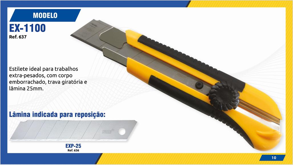 ESTILETE MODELO EX1100
