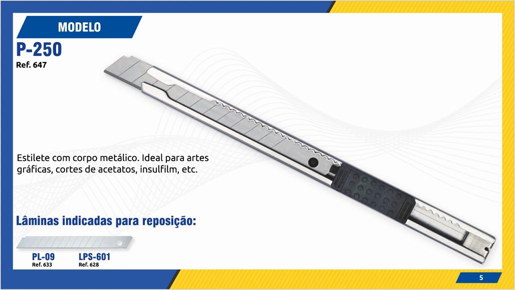 ESTILETE MODELO P250